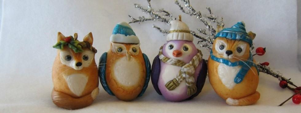 Christmas Ornaments web graphic