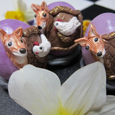 German Fable fox eggs by Marie Young Creative