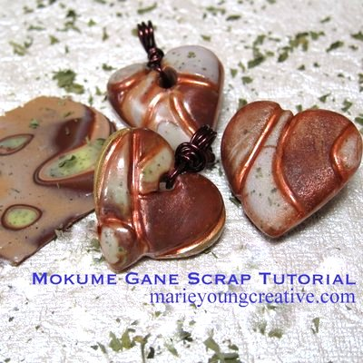 mokume gane scrap tutorial