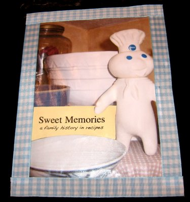 sweet memories family recipe scrapbook