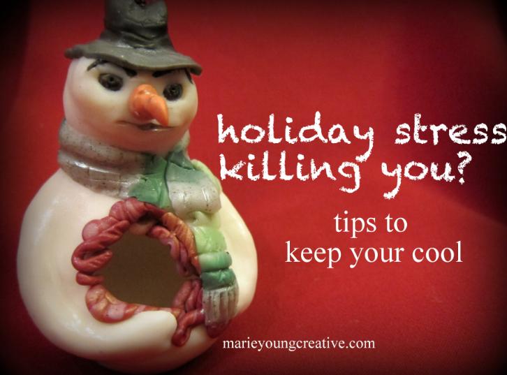 Stress Kills Snowman