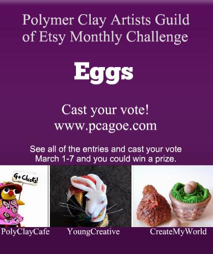 March PCAGOE Challenge promo