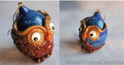 Magical Owl Ornament