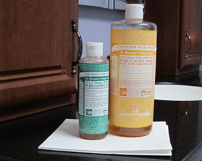 Dr. Bronner's Magic Soap & Spiff Cloths