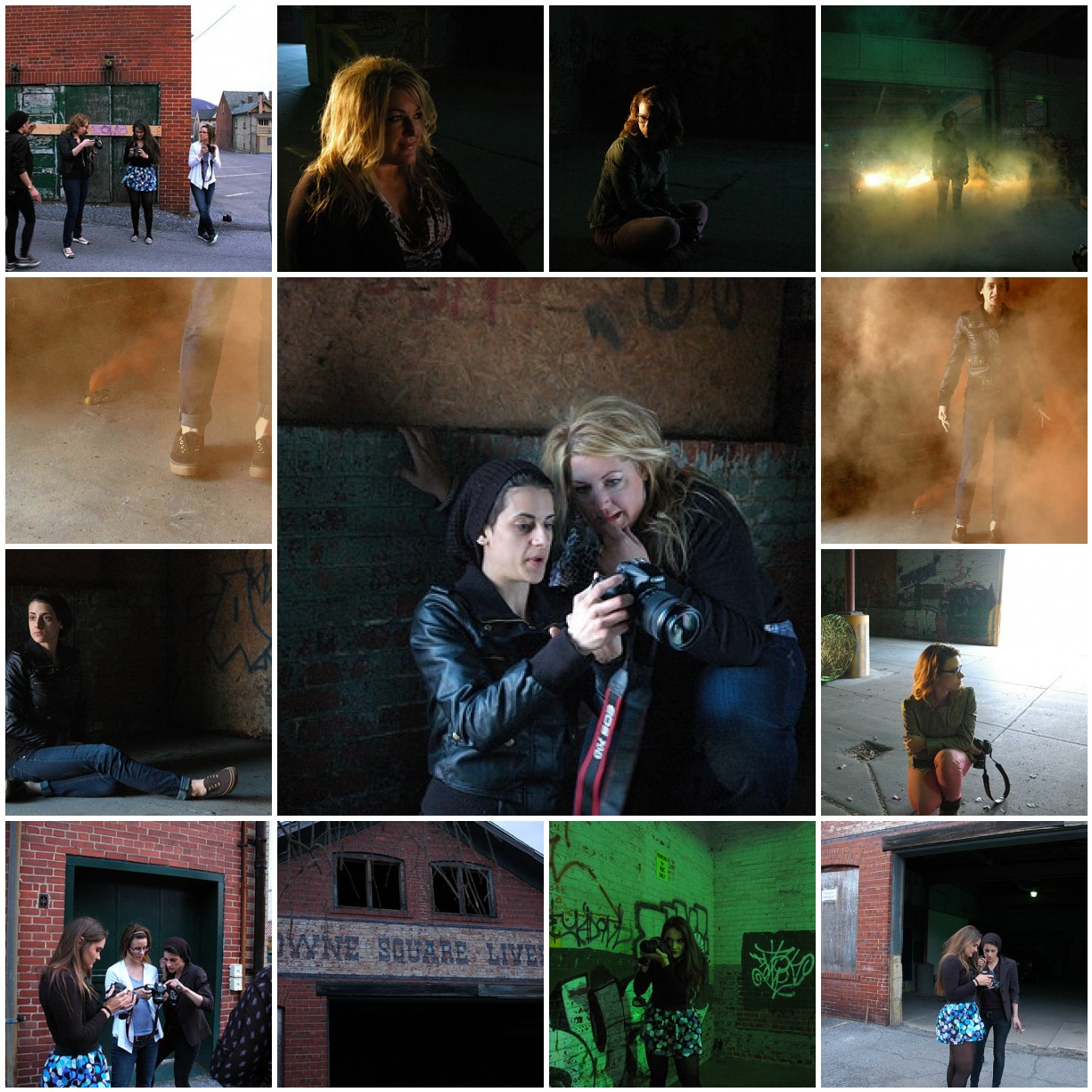 back alley photoshoot