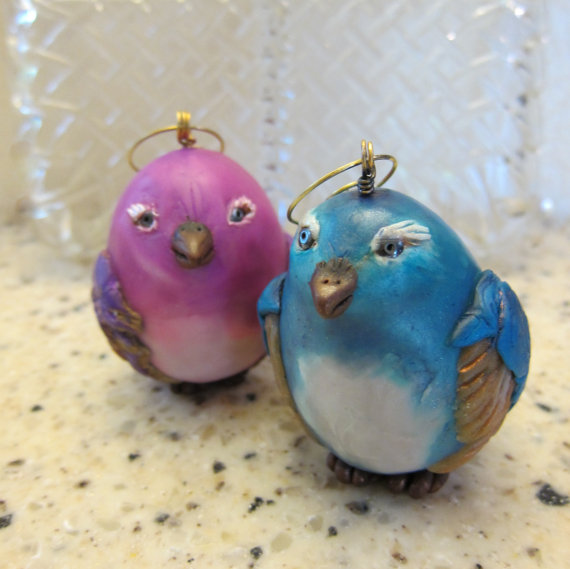 Songbird Ornaments by Marie Young Creative