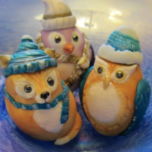 Christmas Egg Ornaments