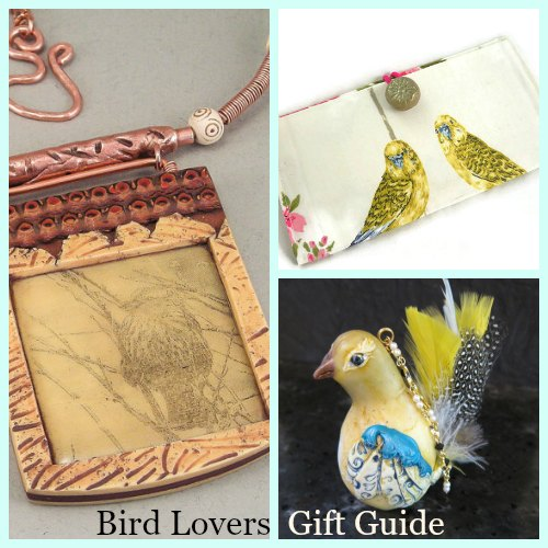 Handcrafted gifts for the bird lover on your list.