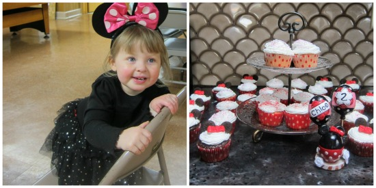 Chloe's Minnie Mouse Birthday Party