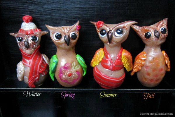 Four Seasons Brown Owl Miniatures