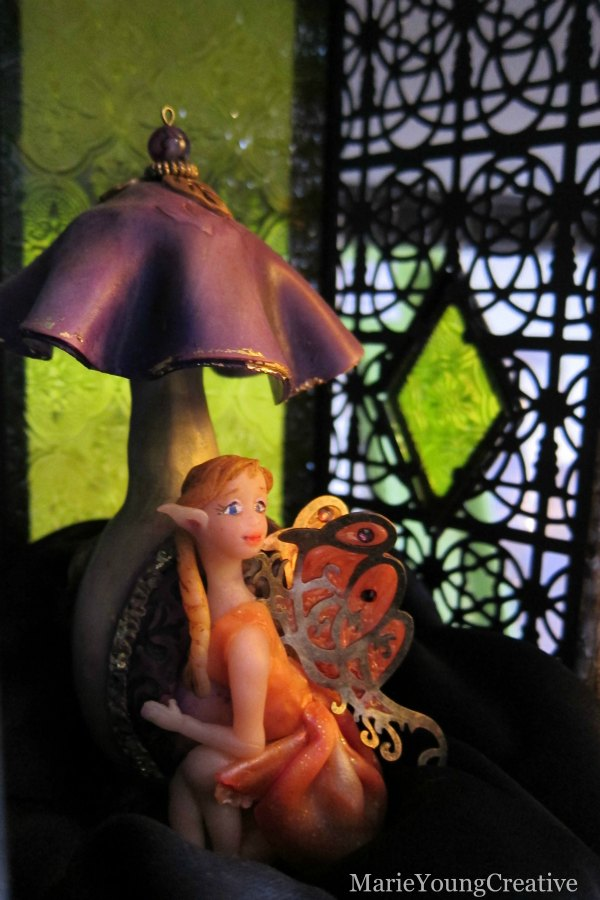 Orange Blossom Fairy Visiting Grin Gallery
